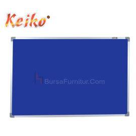 Keiko Soft Board Classic Stand 60x90cm softboard keiko gantung bludru uk 90 x 120 bursafurnitur