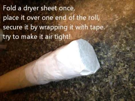 How To Make A Paper Bong - dryer sheet smoke deodorizer for