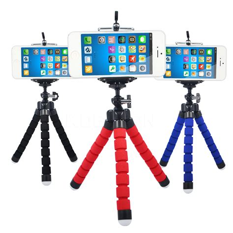 Tripod Octopus car phone holder selfie stand mount monopod octopus tripod bracket adjustable styling
