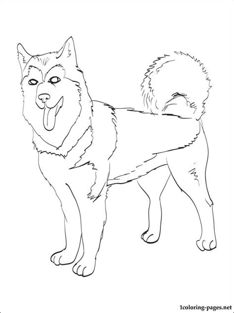 free coloring pages of inuit sled dogs free inuit sled dogs coloring pages