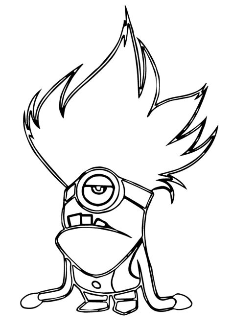 evil minions coloring pages evil minion coloring page sketch coloring page