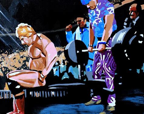 wwe wrestlers bench press 112 best images about wrestling art on pinterest