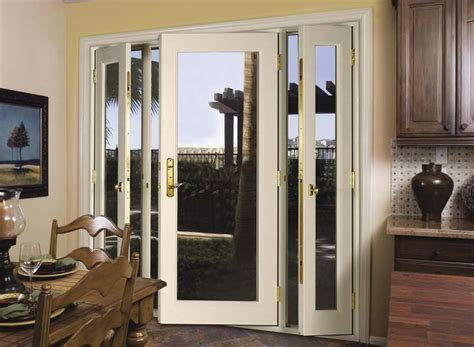doors change glass to screen vented sidelight patio doors this is what i want to
