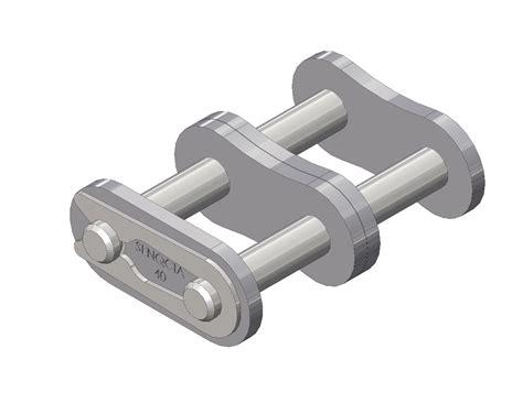 Senqcia Roller Chain Rantai Rs 40 2 senqcia inspire series 40 2 conn link clip type asme ansi standard roller chain