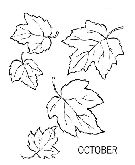 free dibujos october coloring pages