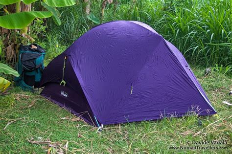 Tenda Luxe Habitat Nx luxe outdoor sil habitat review lightweight 2 person tent nomad travellers