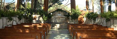 wedding halls in los angeles area wayfarers chapel best wedding locations