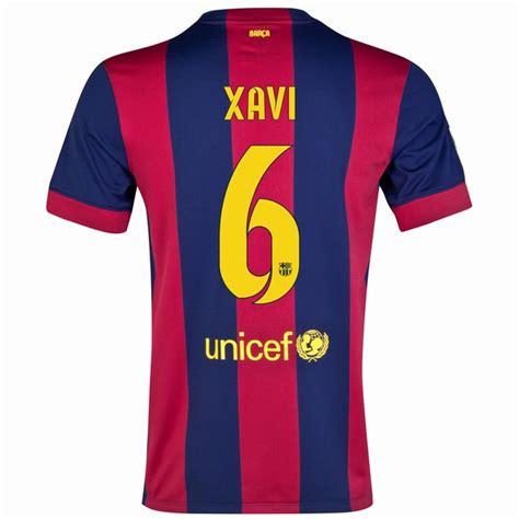 barcelona youth jersey xavi hernandez 6 14 15 barcelona youth home soccer jersey