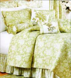 toile bedspreads and coverlets king quilt shelby green white toile french country cotton