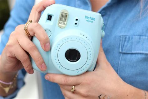 Instan Baby Blue home accessory baby blue instant polaroid