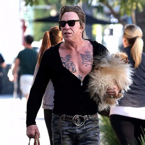 mickey rourke tattoos mickey rourke has tattoos and a pet tattoodo