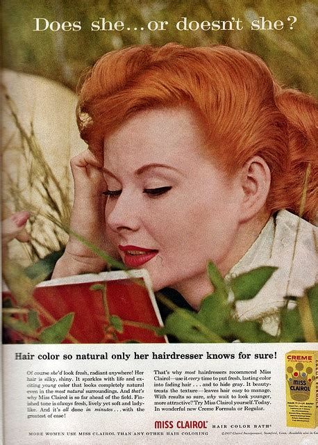 vintage clairol ads on pinterest clairol hair color miss clairol vintage ads pinterest