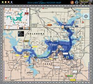 texoma map area map lake texoma associationlake texoma association