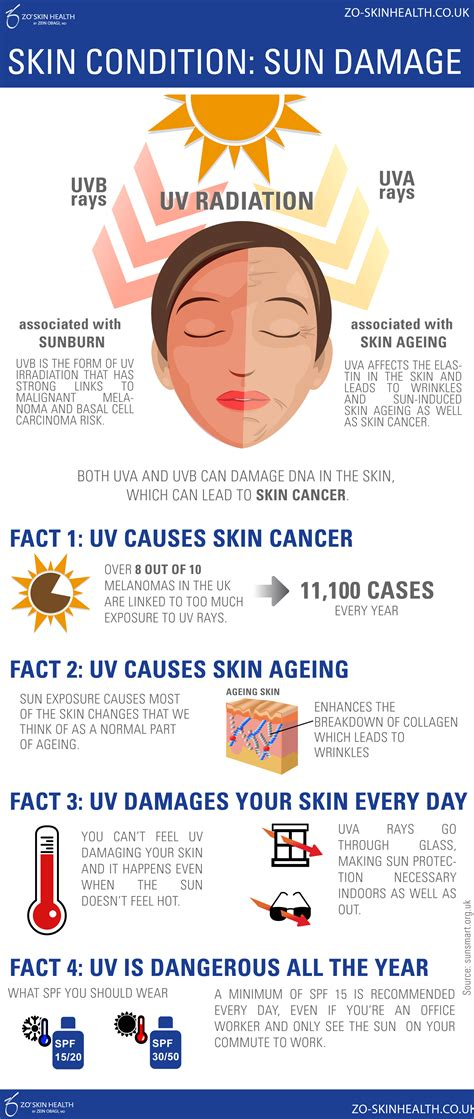 how to protection how to protect your skin from sun damage infographic