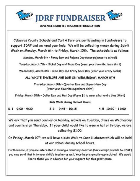 Jdrf Donation Letter Jdrf Fundraiser Jdrf Fundraiser