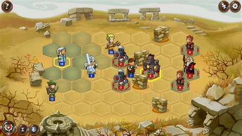 turn based rpg android school hexagonal turn based rpg braveland arrives on steam for linux softpedia linux