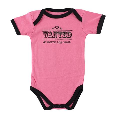 quotable baby shirts quotes worth the wait onesie baby romper sayings quot wanted and worth the wait