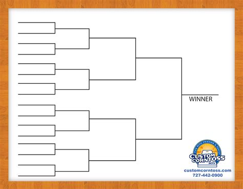 16 team double elimination bracket template pictures to
