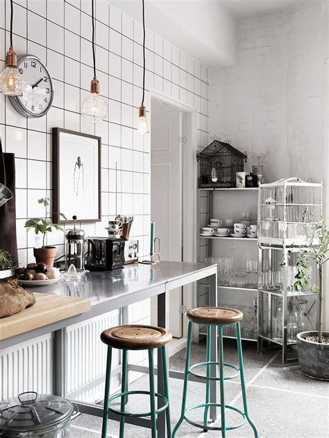 a chic 21st century modern kitchen by the inman company kitchen scandinavian apartment black and white home