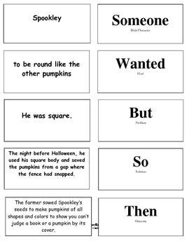 writing a legend template the legend of spookley the square pumpkin activities