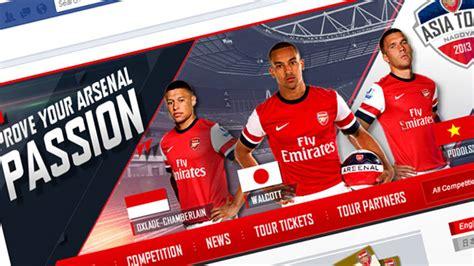 arsenal indonesia facebook club launches asia tour facebook app news arsenal com