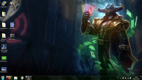 themes for windows 7 league of legends windows 7 league of legends theme twisted fate by