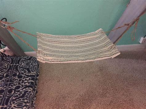 desk hammock diy the dabbling crafter diy sunday diy foot under desk