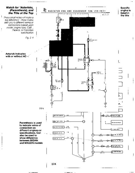 92 toyota camry cooling fan wiring diagram wiring diagram