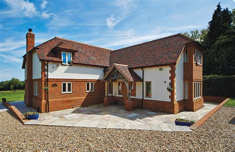 brick and render house design 4 bedroomed self build homes traditional self builds ideas for the house