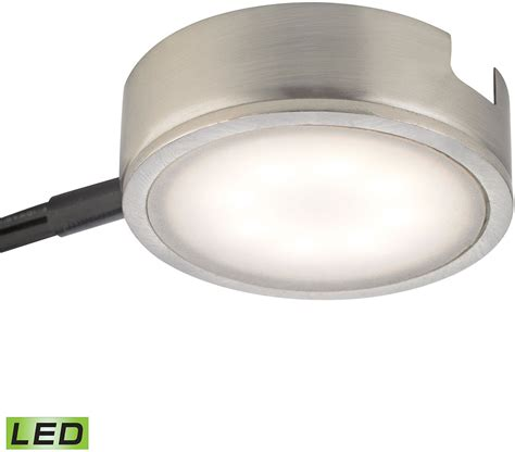 newage under cabinet led light w power adapter alico mle301 5 16m tuxedo modern satin nickel led under