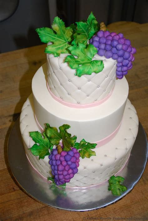 Quilted Fondant Cake by Rozelle Pastries Desserts Fondant Finishes