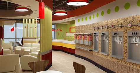 shop in shop interior interior design of yogurt shops commercial interior