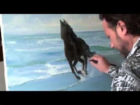 bob ross painting horses libero quot cavallo quot dal artista igor sakharov