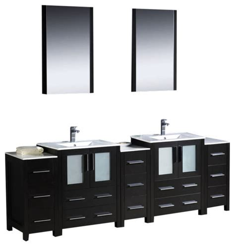 84 inch bathroom vanity 84 inch bathroom vanity with side cabinets