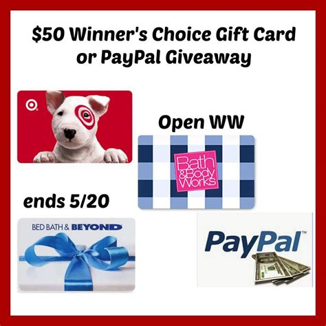 Bed Bath And Beyond Email Gift Card - 50 bed bath beyond or target gift card powered by mom