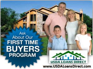 time home buyers usda loans direct