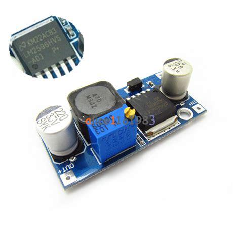 2596 Dc Step Input 45 40v Output 125 37vdisplay Seven Segment lm2596hvs lm2596hv dc dc adjustable step buck converter power supply module ebay