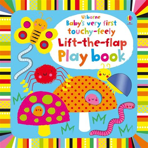 Usborne Touchy Feely baby s touchy feely lift the flap play book