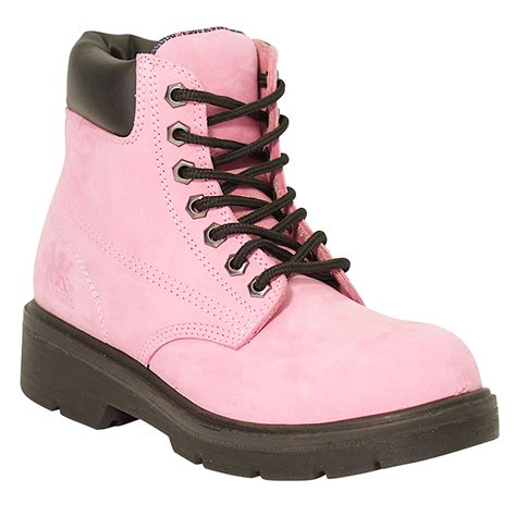 womens pink work boots popular green womens pink work