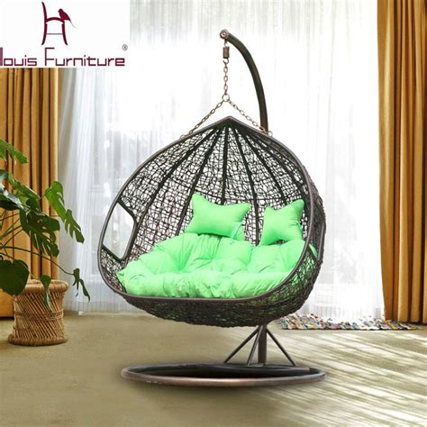 basket swing chair aliexpress com buy swing cany chair for garden double