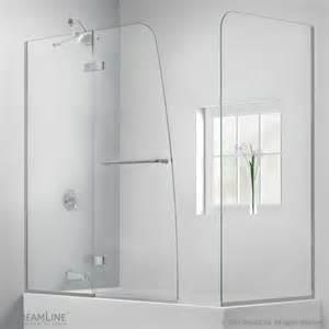 tub with door aquaultra hinged tub door with return panel