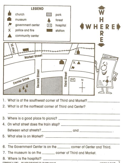 printable map worksheets for 4th grade social studies worksheets google search social studies