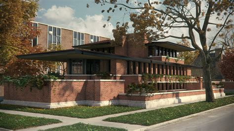 frank lloyd wright l the robie house by frank lloyd wright 1920x1080