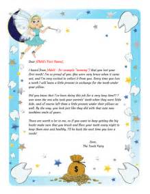tooth fairy letter first tooth printable