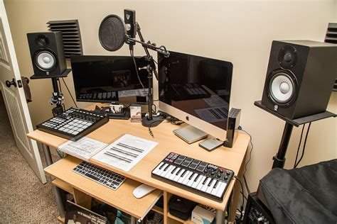 Used Studio Desk For Sale Best Home Design 2018 Small Recording Studio Desk