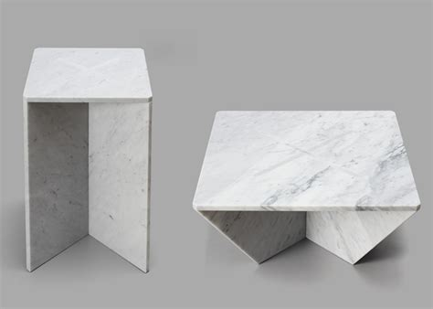 Dining Room Tables Nyc intriguing snap together marble tables annex by joe