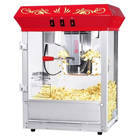 corn maker commercial electric 8oz popcorn machine pop corn maker bar popper 820w ebay