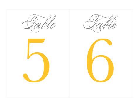 printable wedding numbers free printable table numbers wedding ideas grey
