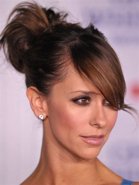 jennifer love hewitt updo hairstyles hair beauty and fashion photos stylelist