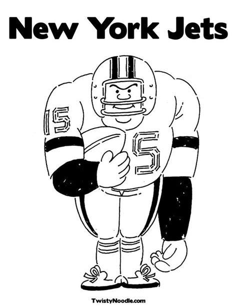 new york jetsa0 free colouring pages